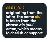 Meaning of Alui